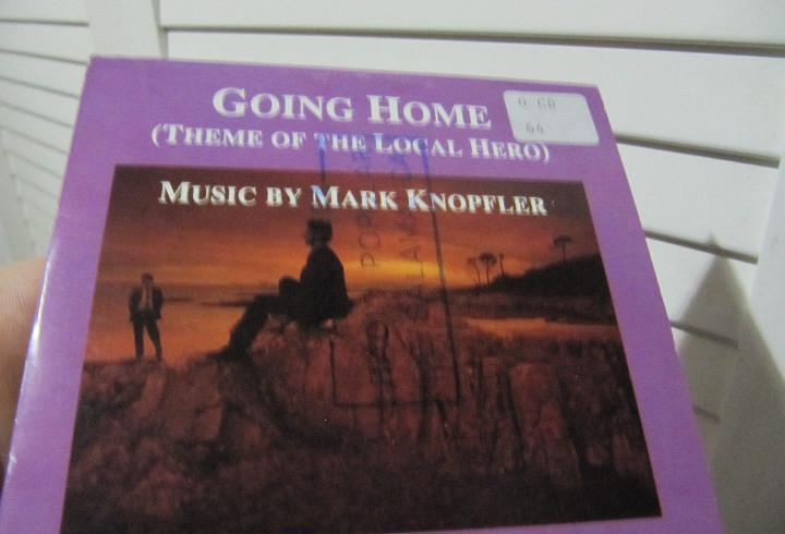 Mark knoppler / going home / local here (cd single carton