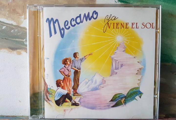 Mecano - ya viene el sol - cd álbum - año 1998 - leer