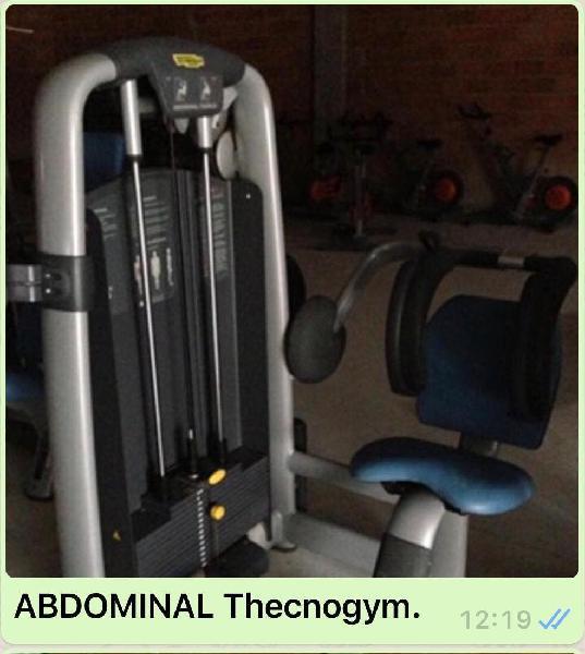Máquinas gimnasio technogym