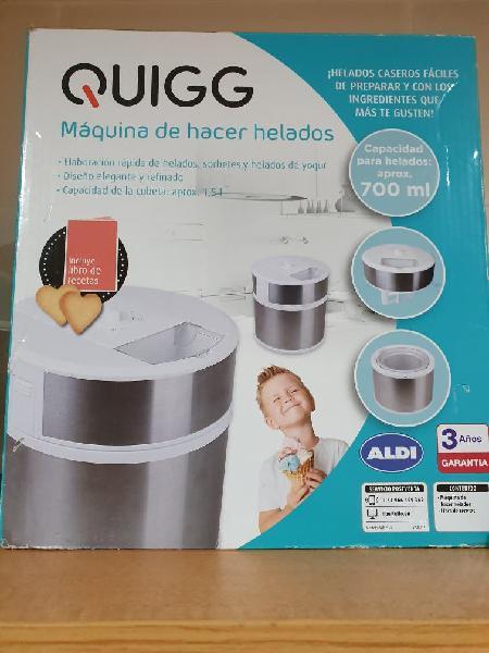 Maquina de hacer helados quigg(aldi)