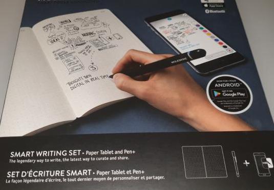 Moleskine Smart Writing Set - Nuevo- SIN USAR