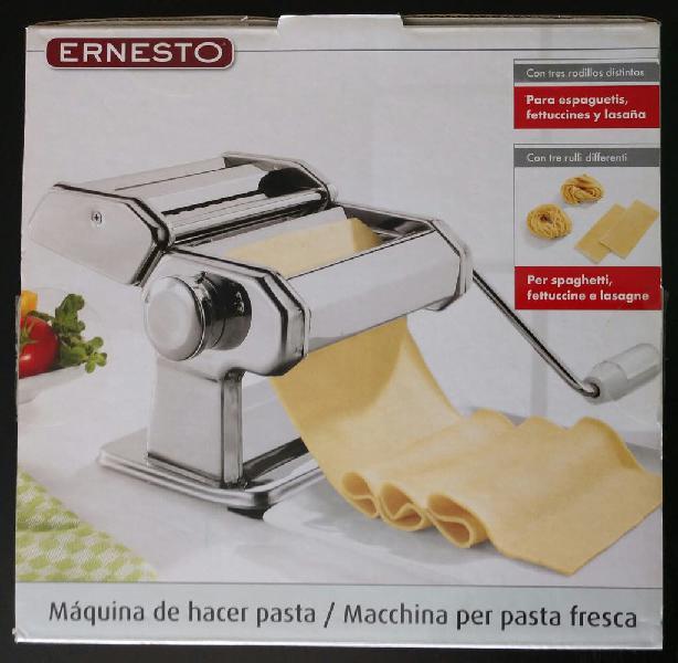 Máquina de hacer pasta casera