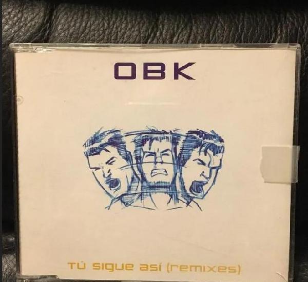 Obk-tu sigue asi maxi cd caja plastico