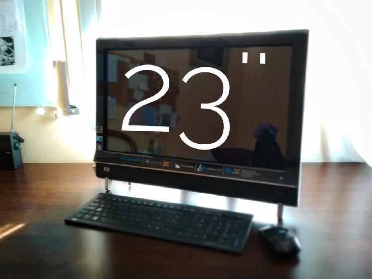 Ordenador pc hp táctil 23'' full hd+teclado+ratón