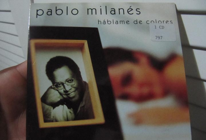 Pablo milanes / hablame de colores (cd single carton promo