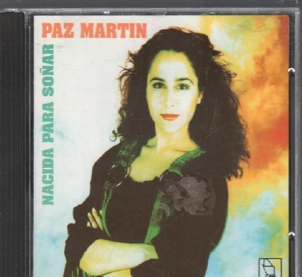 Paz martin - nacida para soñar / cd album de 1991,
