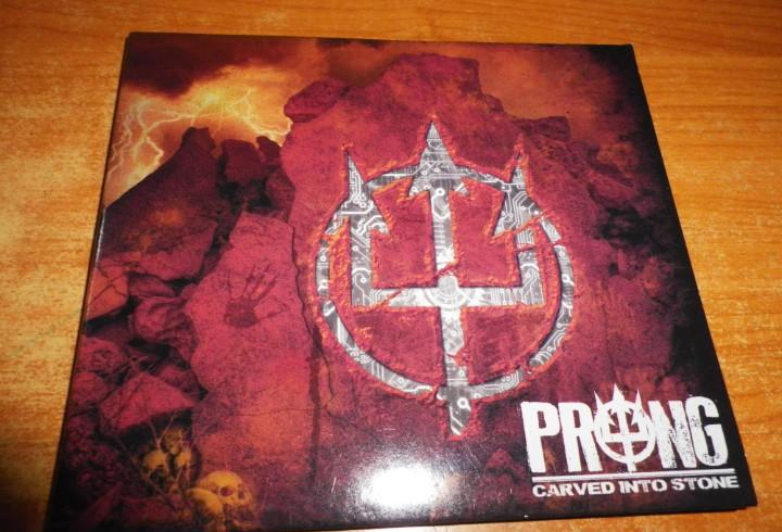 Prong carved into stone cd digipack del año 2012 alemania