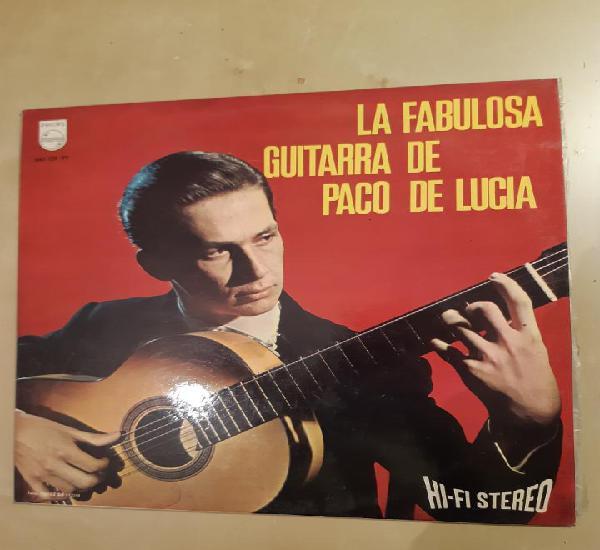 Paco de lucía – la fabulosa guitarra de paco de lucía