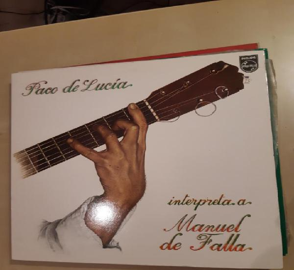 Paco de lucia - interpreta a manuel de falla - paco de lucia