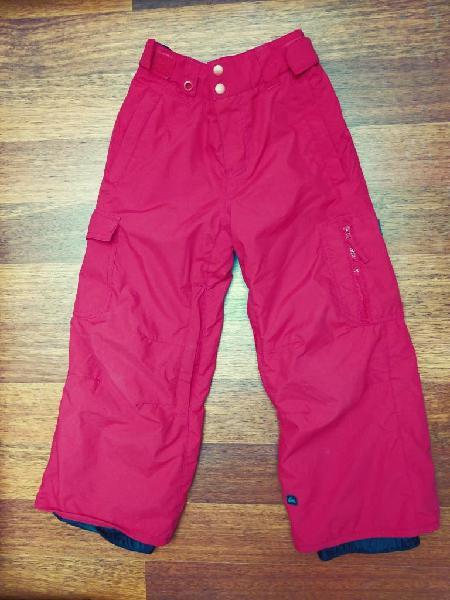 Pantalón de ski quiksilver talla 8