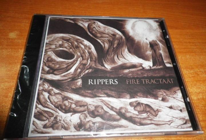 Rippers fire tractaat cd album precintado del año 2012
