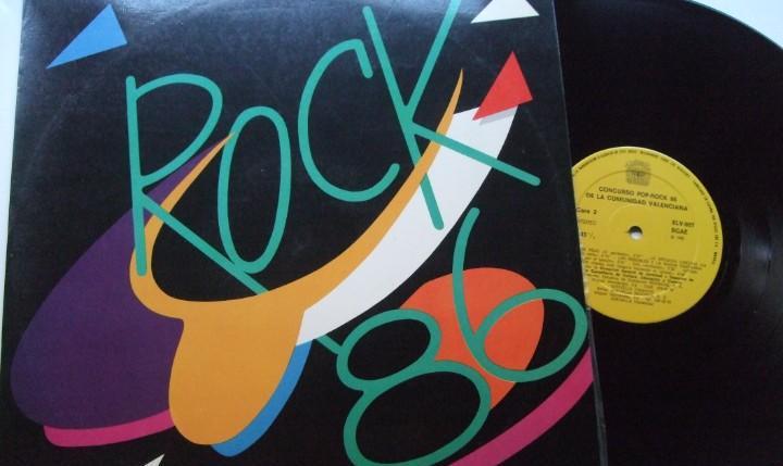 Rock 86.lp. concurso 86 de la comunidad valenciana.