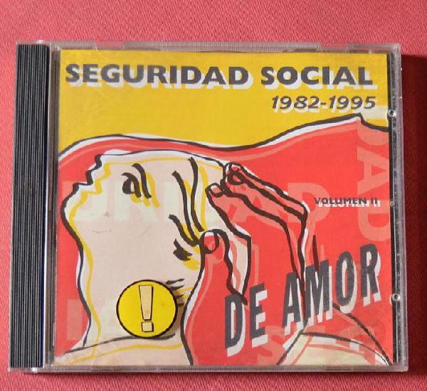 Seguridad social - 1982-1995 - compromiso de amor - volumen