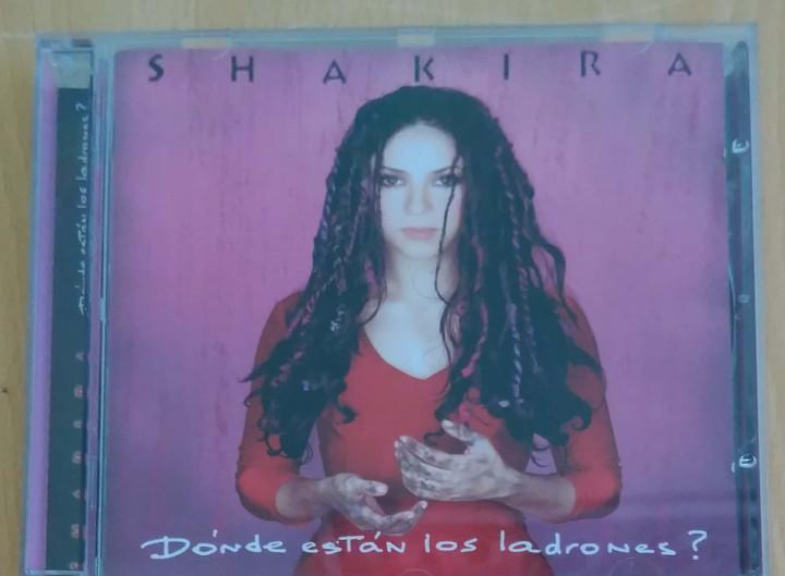 Shakira (donde estan los ladrones?) cd 1998