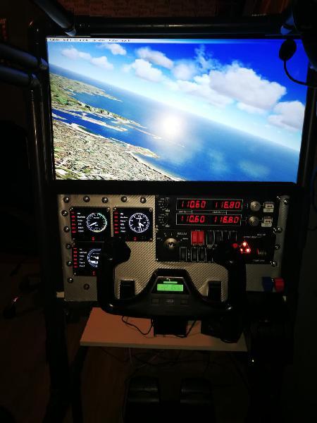 Simulador de vuelo ( ideal para flight simulator )
