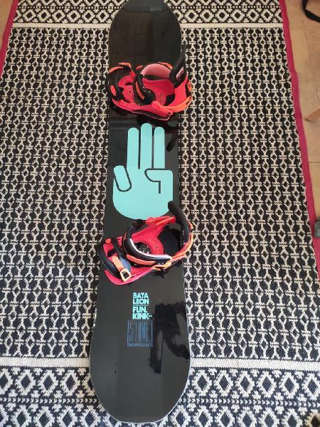 Snowboard bataleon funkink + unión contact