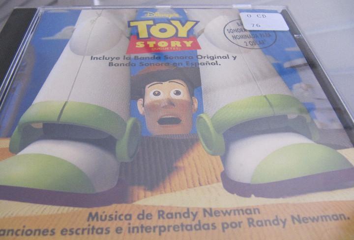 Toy story - bso (incluye la banda sonora original y la banda