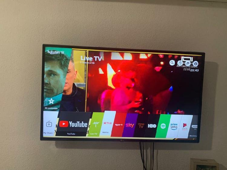 "Tv lg 43"" led ultrahd 4k"