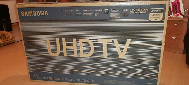 Televisor samsung 43 ..nuevo...