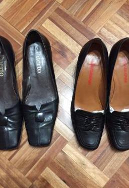 Zapatos de mujer muy poco uso.