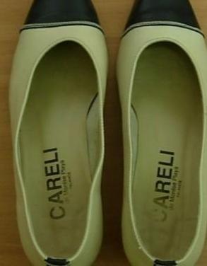 Zapatos mujer piel vintage careli