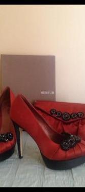 Zapatos y cartera fiesta