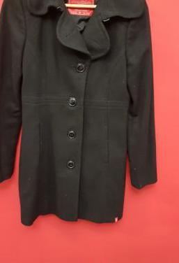 Abrigo negro talla m edc