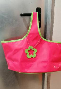 Bolso rosa piscina impermeable