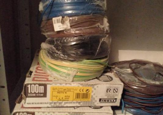 Cables electricos y cajas