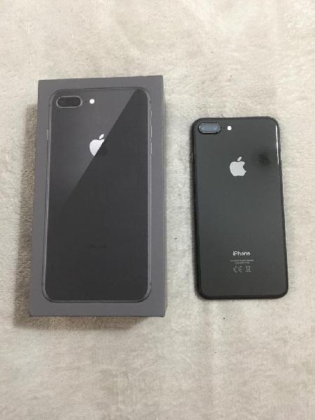Iphone 8 plus color negro ,libre