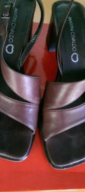 Sandalias de piel italianas talla 38