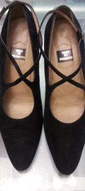 Zapatos negros ante talla 38 farrutx