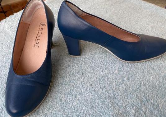 Zapatos tacon bajo marca pitillo n° 39
