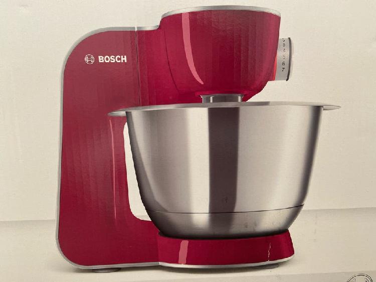 A estrenar robot cocina bosch mum5 burgundy