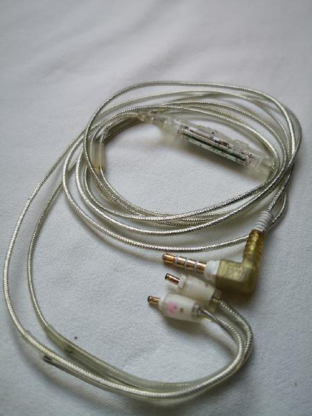 Cable original mee audio mmcx microfono y mando