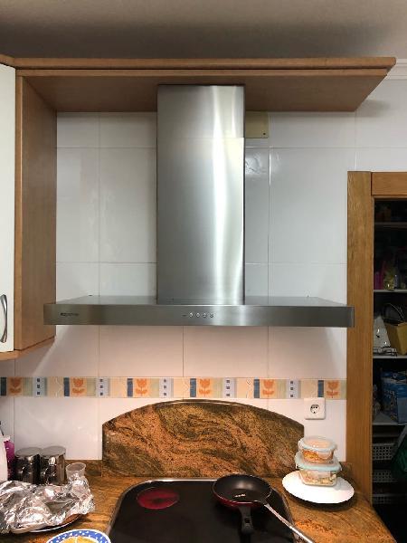 Campana decorativa cocina