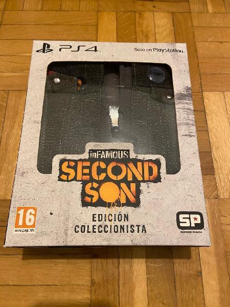 Contenido edición especial infamous second son