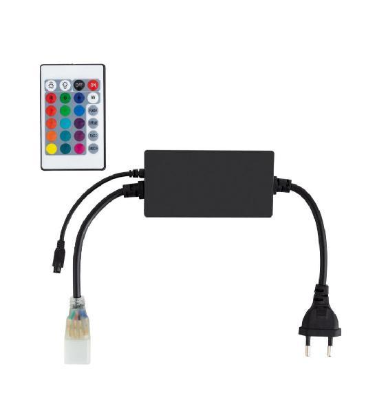 Controlador tira led rgb 220v