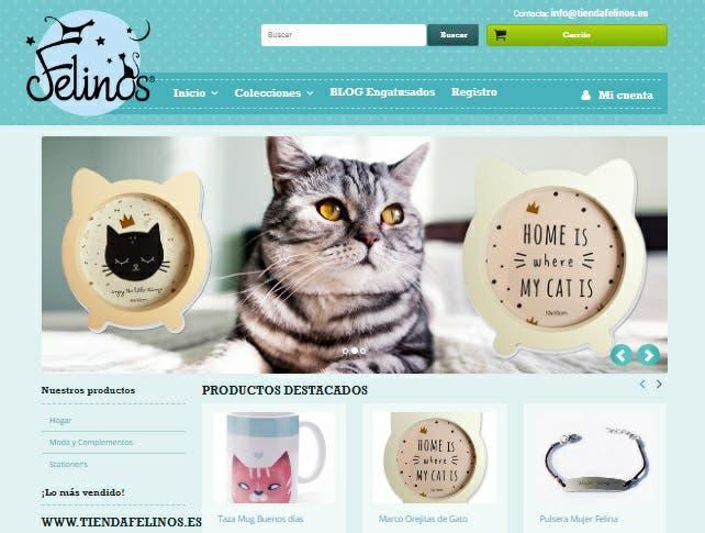 Ecommerce tienda felinos