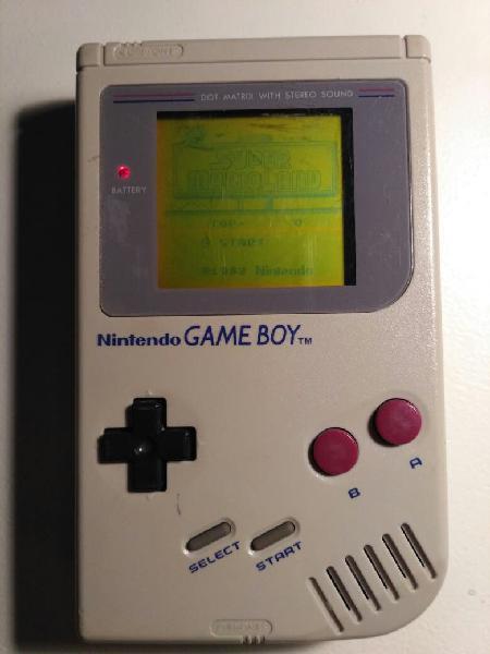 Game boy clásica dmg 01