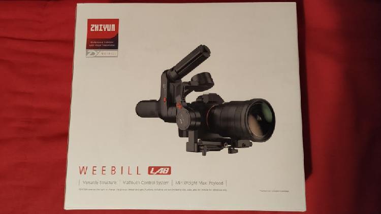 Gimbal zhiyun weebill lab nuevo y sin usar