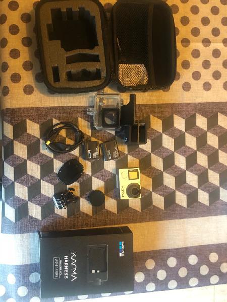 Gopro hero 4 black y accesorios