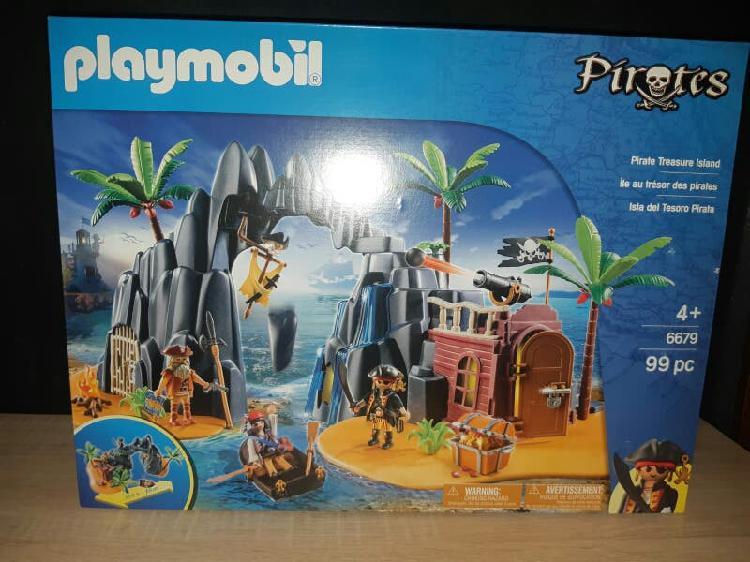Isla del tesoro pirata playmobil 6679