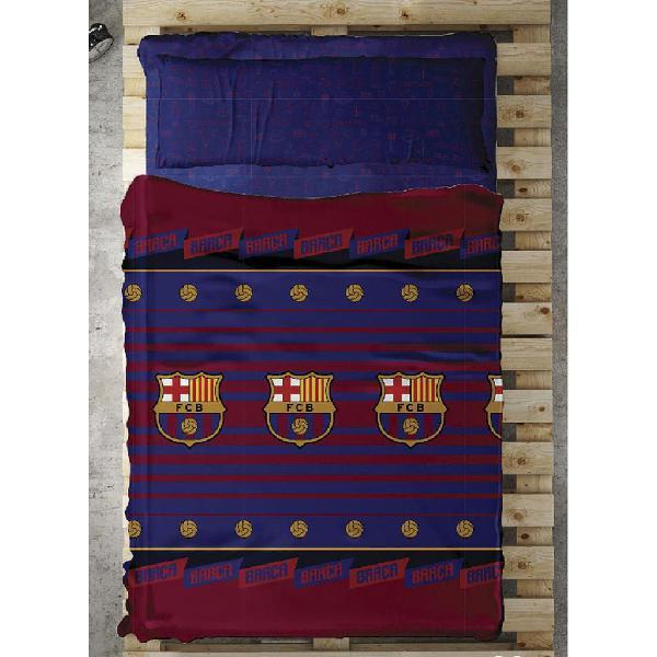 Juego sábanas cama 90 fc barcelona (a estrenar) ju