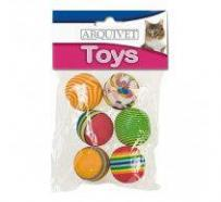 Pelotas multicolor juguete para gatos 3.5 6