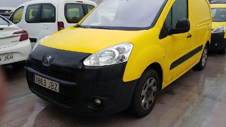 Peugeot partner, km certificados