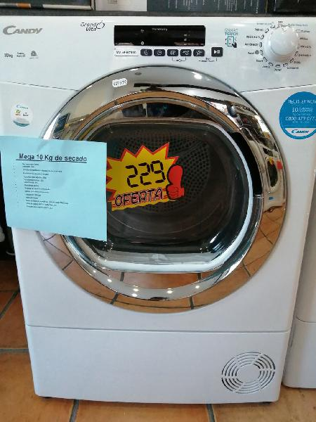 Secadora candy 10 kg