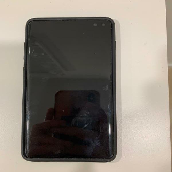 Samsung galaxy s10+ 128 gb black
