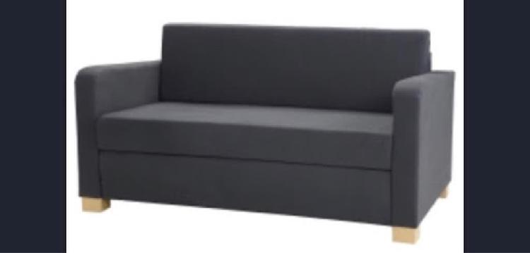 Sofa cama ikea azul
