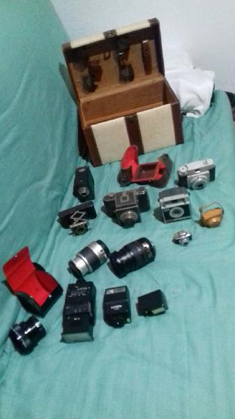 Cámaras de fotos objetivos flash